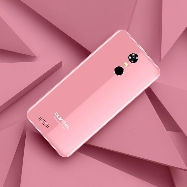 OUKITEL C8 Pink