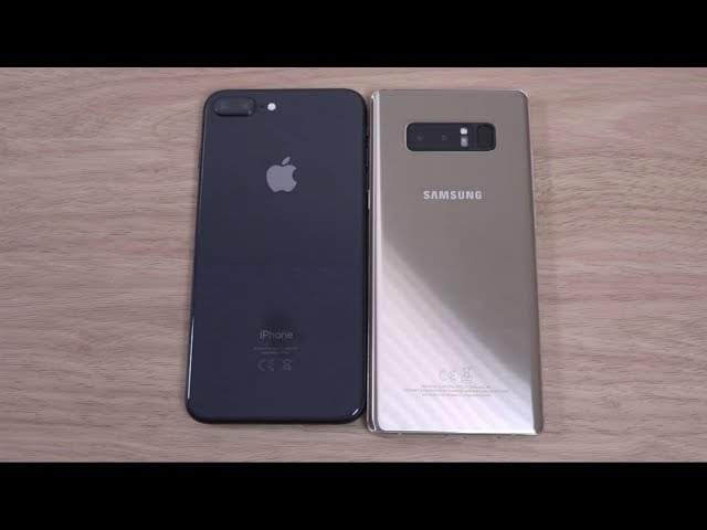 iPhone 8 vs Samsung Galaxy Note 8: testa a testa tra top gamma