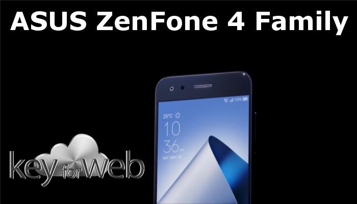 ASUS Zenfone 4: prezzi e disponibilità in Italia dei diversi modelli