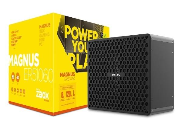 Zotac Magnus EK e ER, nuovi mini PC da Gaming con AMD Ryzen e GTX 1060/1070