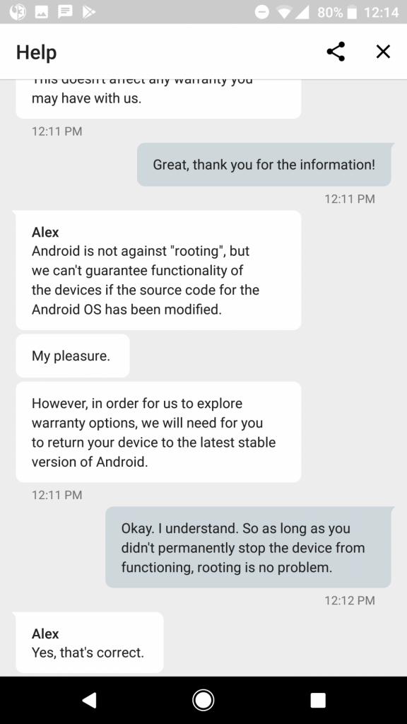 Il modding non invaliderà la garanzia dei Google Pixel 2