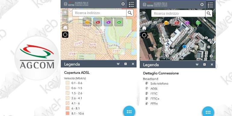 AGCOM lancia BBmap, l'app per verificare la velocità delle reti Internet in Italia