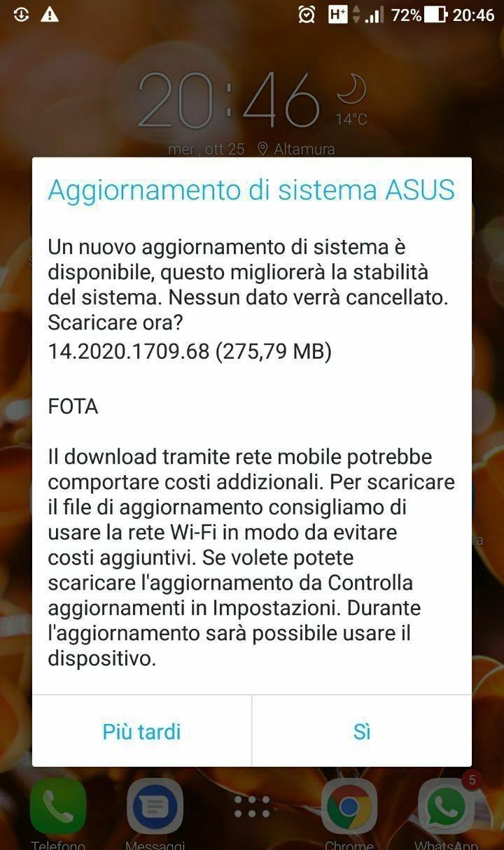 ZenFone 4 Selfie Pro e ZenFone 3: disponibile nuovo aggiornamento