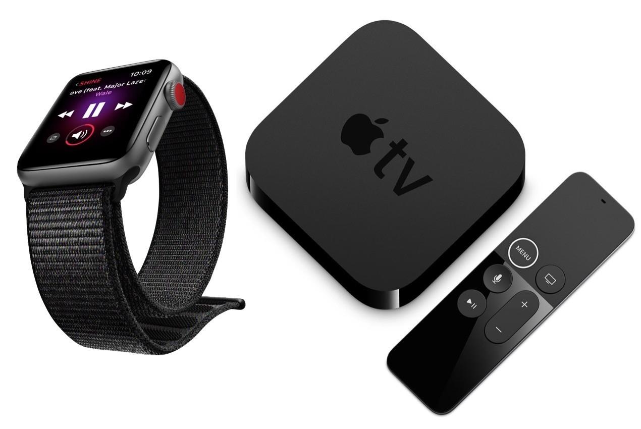 Apple WatchOS 4.1 e tvOS 11.1 disponibili al download