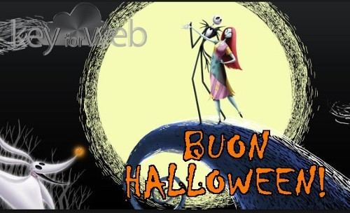 Auguri Halloween Nightmare before Christmas