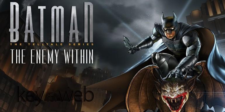 Batman: The Enemy Within, il primo capitolo della serie disponibile gratis su iOS e Android