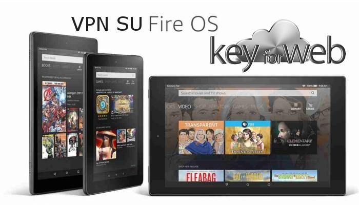 Come usare un VPN nel Tablet Amazon Fire