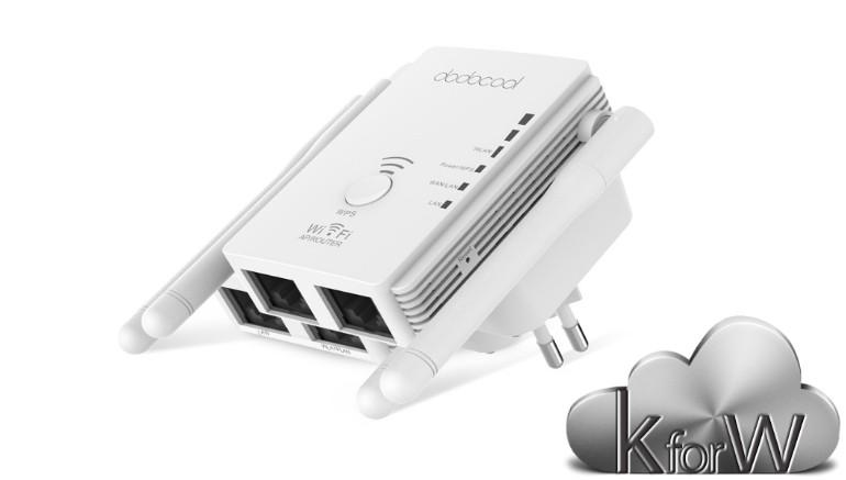 N300 Wi-Fi Extender distribuito da CAFAGO