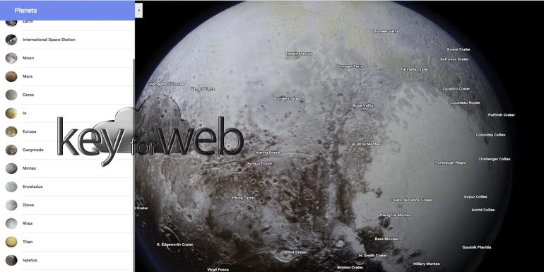 Google Maps abbandona il contatore di calorie e si dedica al Sistema Solare, ma le cartine sono sbagliate