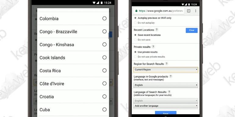 Google: stop ai risultati di ricerca di altri Paesi con il dominio