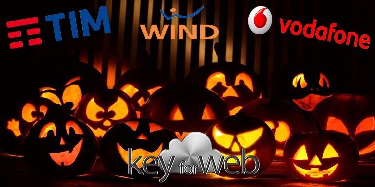 Halloween 2017: internet in regalo con Tim, Vodafone e Wind