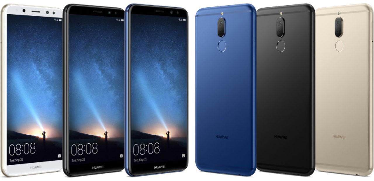 Huawei Mate 10 Lite panoramica