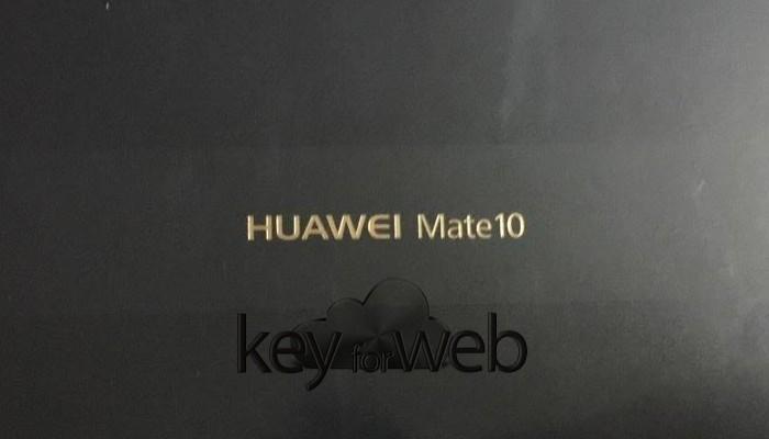 Huawei Mate 10 sarà venduto all'interno di questa confezione
