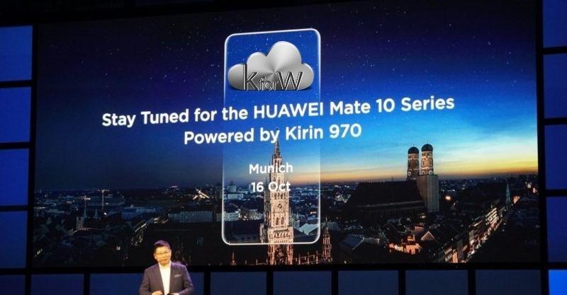 Huawei Mate 10, seguite oggi 16 ottobre la presentazione in diretta streaming