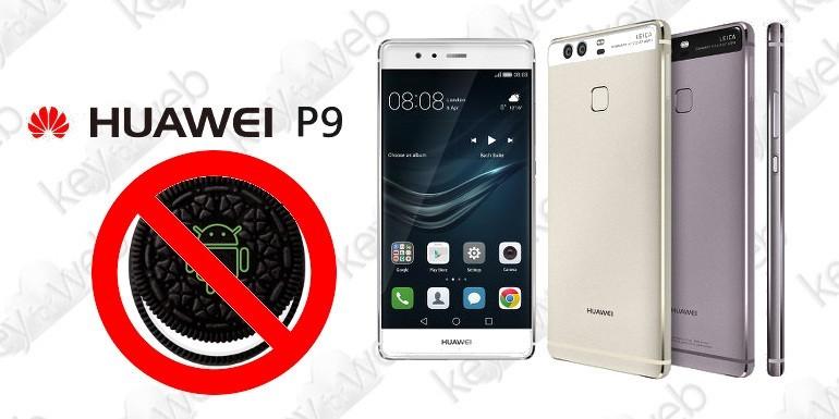 Huawei P9 non sarà aggiornato ad Android Oreo?