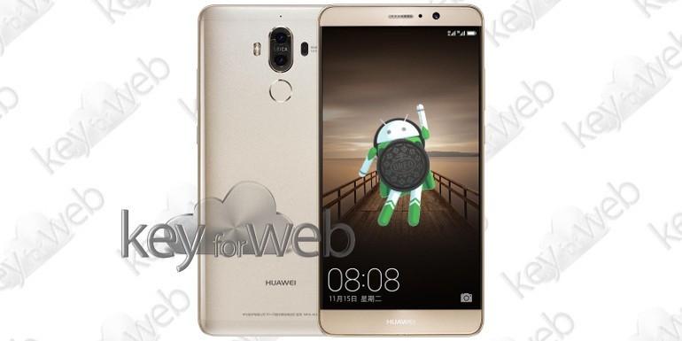 La serie Huawei Mate 9 si aggiorna ad Android 8.0 Oreo