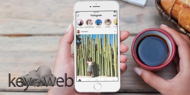 Instagram stories adesso si creano anche da sito mobile for Sito mobili