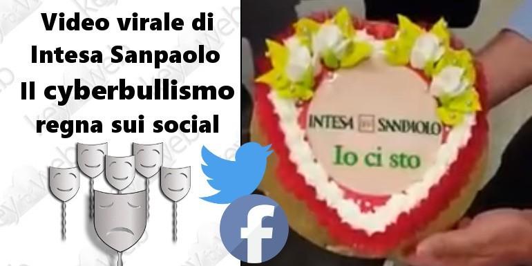 """""""Io ci sto"""", video virale di Intesa Sanpaolo: il cyberbullismo regna sui social"""