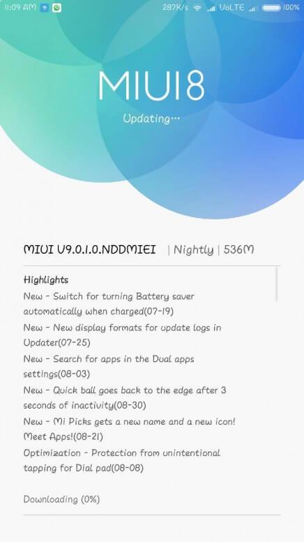 Xiaomi: in arrivo la beta stabile MIUI 9 per Mi Max 2 e Nougat per Redmi 4