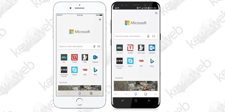 Microsoft annuncia Edge per iOS e Android