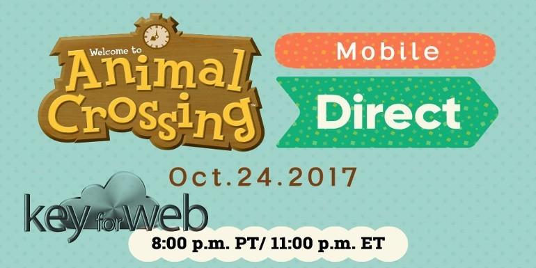 Nintendo Animal Crossing Mobile, l'annuncio il 24 ottobre