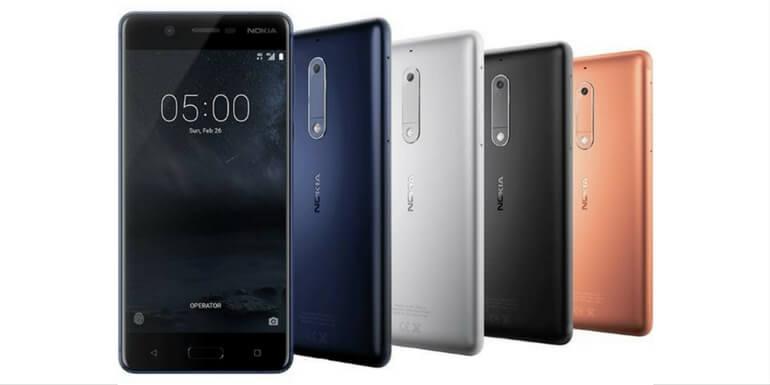 Nokia 5 riceve l'aggiornamento per Android 7.1.2 Nougat