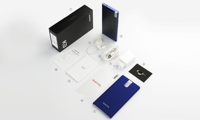 OUKITEL K3 package