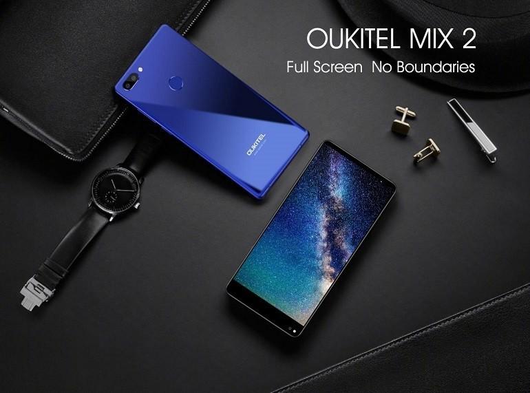 OUKITEL MIX 2 rilasciate le specifiche complete, Ram da 6 GB e Soc Helio P25