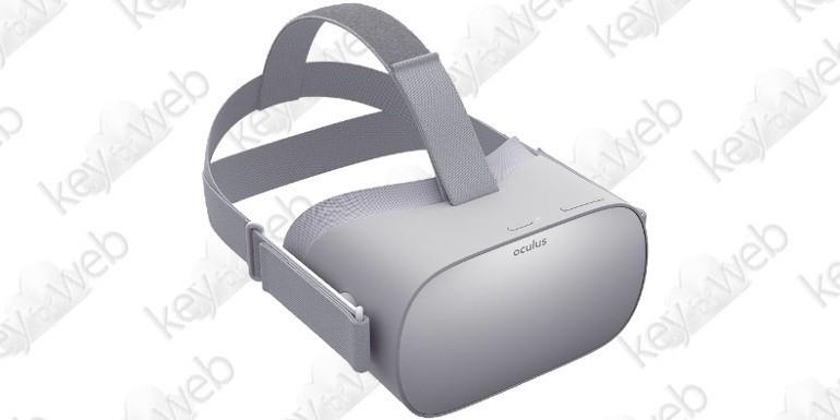 Oculus GO, il nuovo visore VR di Facebook dal prezzo abbordabile