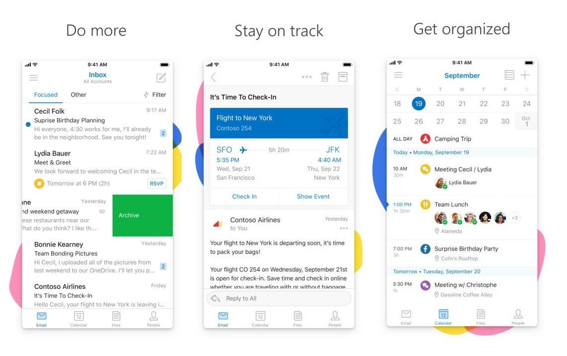 Microsoft Outlook si aggiorna su iOS includendo nuove funzioni per i gruppi