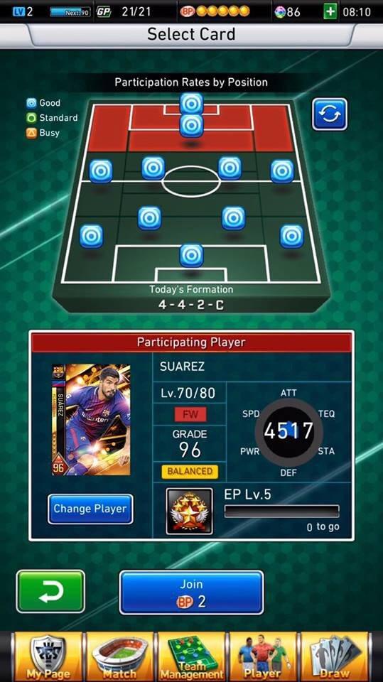 PES Card Collection è disponibile al download per iOS e Android
