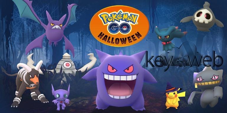 Pokémon GO: Niantic annuncia l'Evento Halloween 2017, tutte le novità