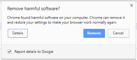 Google Chrome anti-virus