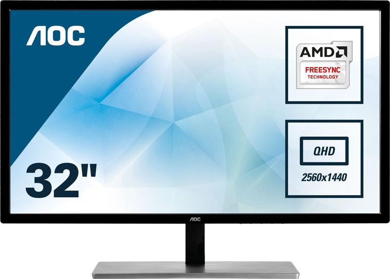 """AOC Q3279VWF il nuovo monitor da 31,5"""" 1440p a un prezzo ultra competitivo"""