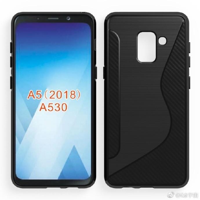 Samsung Galaxy A5 2018: nuovi render mostrano una versione ridotta di Galaxy S8