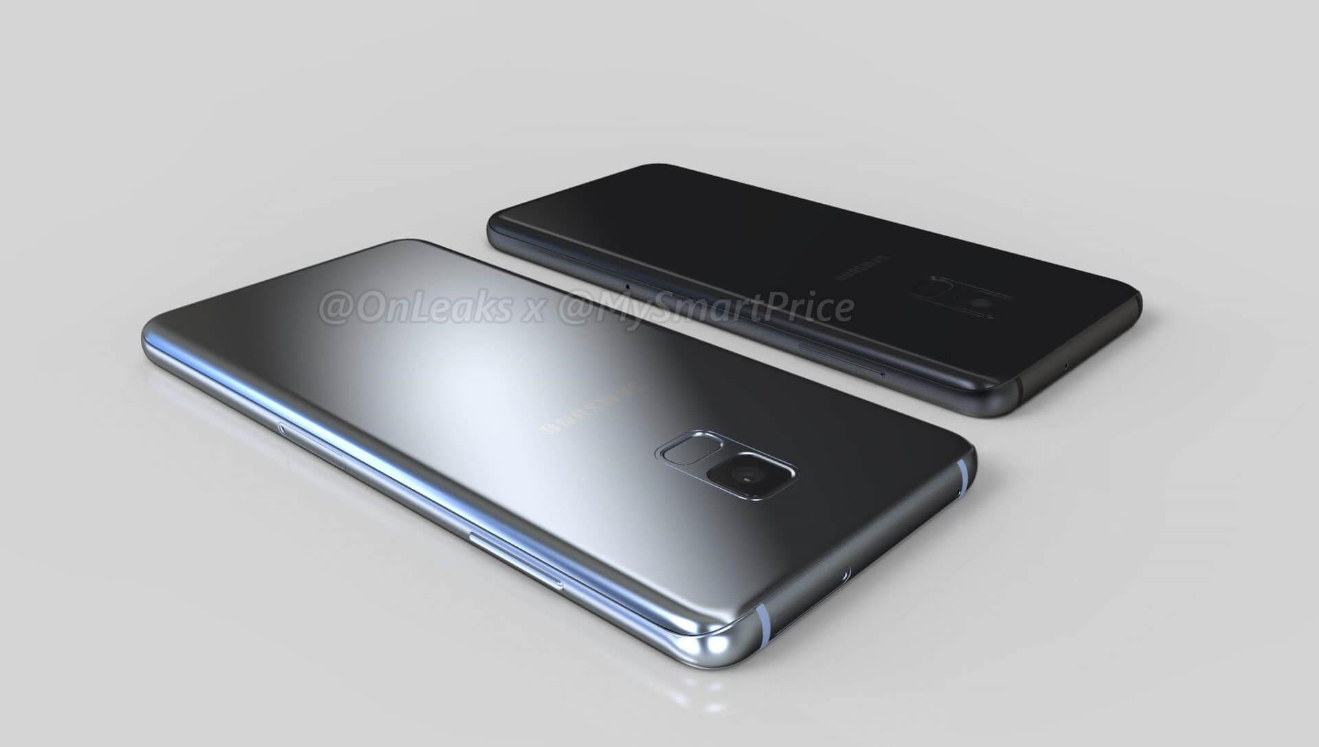 Samsung Galaxy A7 (2018) e Galaxy A5 (2018) mostrati in nuove immagini render
