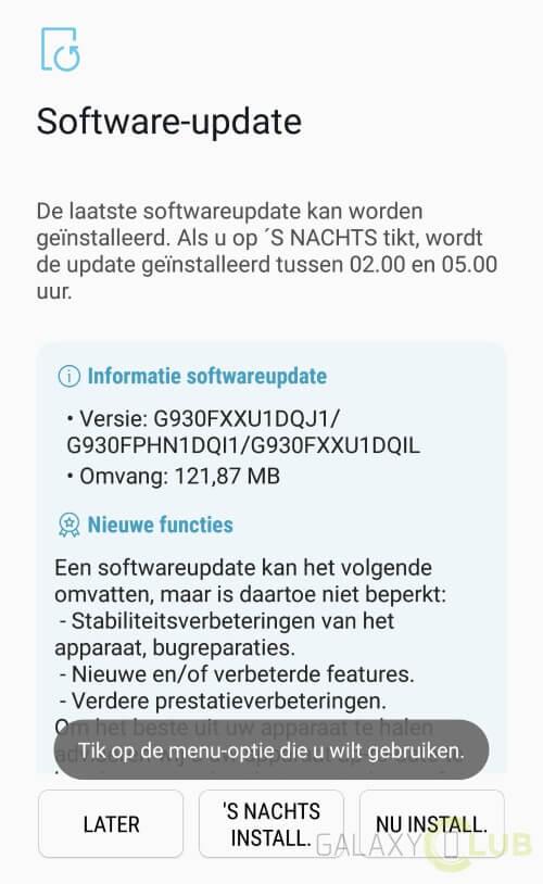 Samsung Galaxy S7 e S7 edge: in arrivo le patch di sicurezza di ottobre 2017