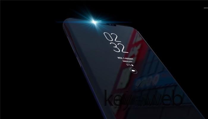 Samsung Galaxy S9 con camera frontale 3D per il riconoscimento facciale