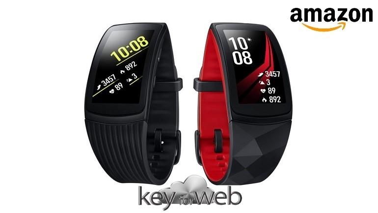 Samsung Gear Fit 2 Pro fitness band scontato del 15% su Amazon