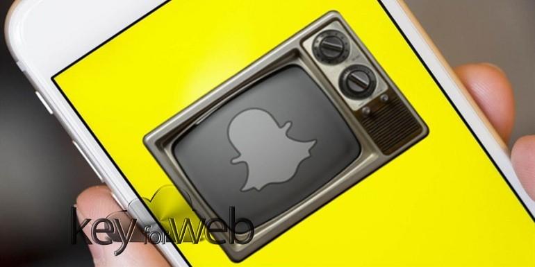Snapchat sfida Facebook Watch e lavora a spettacoli per dispositivi mobili