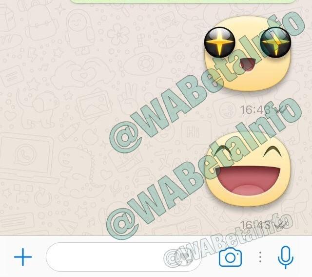 Stickers WhatsApp su iOS