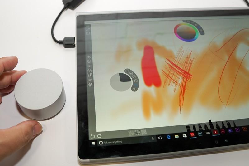 Surface Dial, Adobe estende il supporto in Photoshop