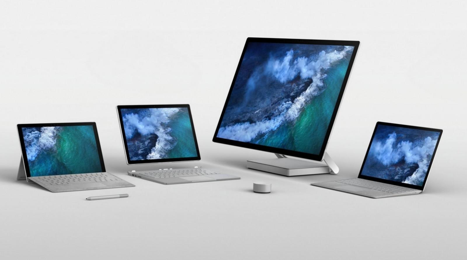 Universo Surface, bene l'ultimo Surface Pro, esordio per il Book 2