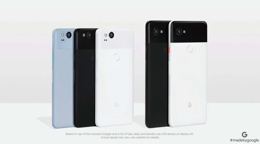 Tutti i nuovi Pixel