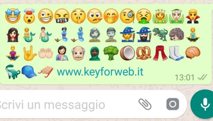 Scherzetto o dolcetto da WhatsApp con le nuove emoji di Halloween