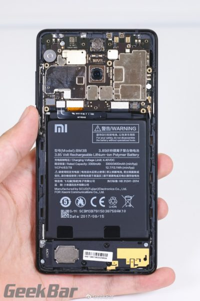 Xiaomi Mi MIX 2 in un Teardown completo