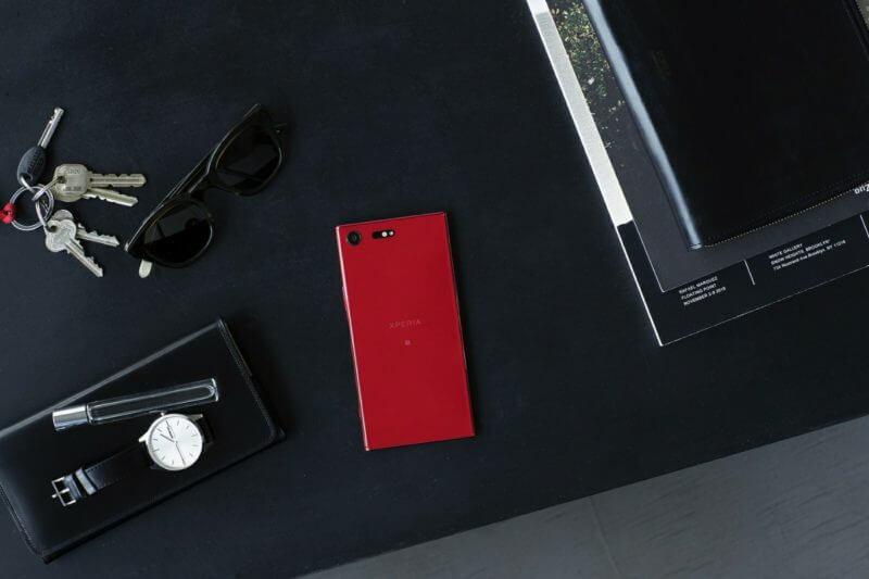 Xperia XZ Premium sarà disponibile nella nuova colorazione rossa