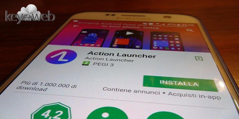 Action Launcher si aggiorna ed abbraccia l'interfaccia Android Oreo dei nuovi Pixel 2