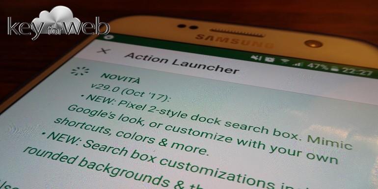 changelog action launcher