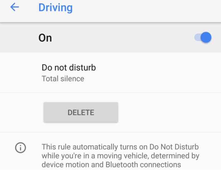 Non disturbare alla Guida su Google Pixel 2